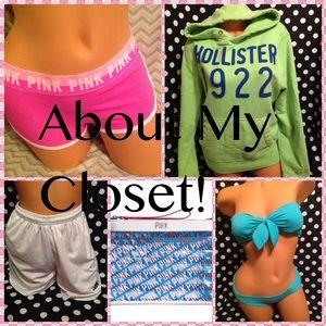 About my closet!!!💐💐💐